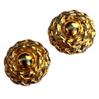 YSL Vintage 80' s Couture Earrings