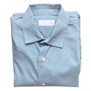 Prada new blue and white shirt