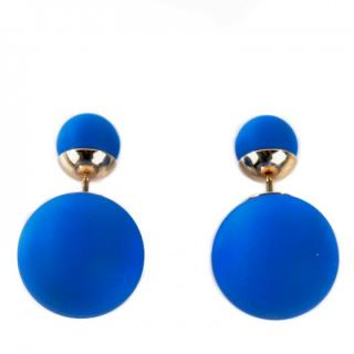 Dior Tribal Electric Blue Earrings