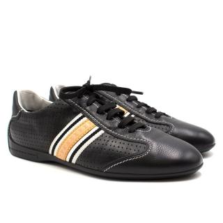 Louis Vuitton black leather Sneakers