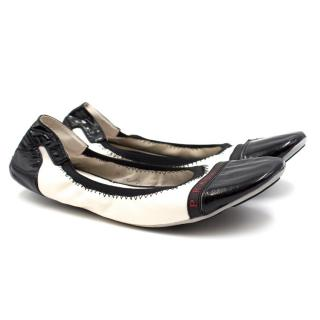 Prada Patent Leather Ballet Flats