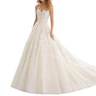 Morilee by Madeline Gardner Classic Tulle Bridal Wedding Dress