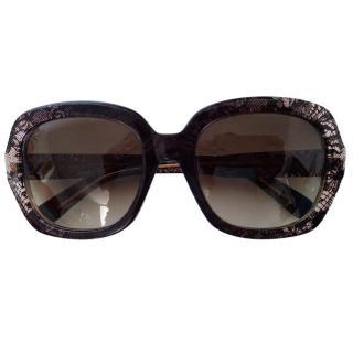 Valentino classic lace sunglasses