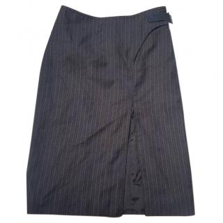 Gucci Tom Ford pinstripe skirt