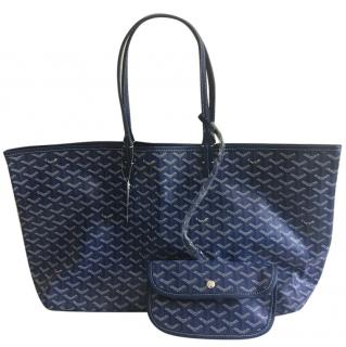 Goyard St Louis coated canvas tote