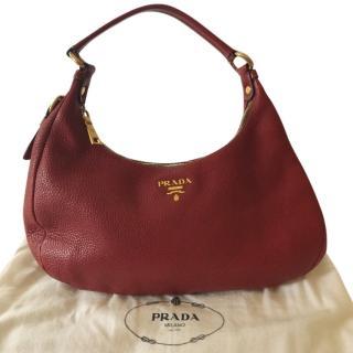 Prada Red Shoulder Bag