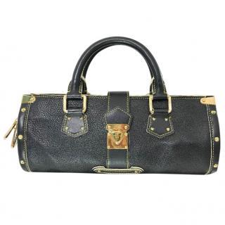 Louis Vuitton Suhali L'Epanoui Black PM Bag