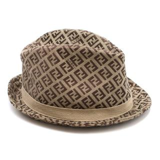 Fendi Monogram Canvas Hat
