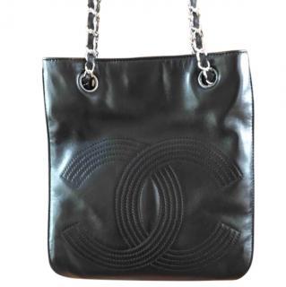 Chanel Leather CC Shoulder Bag