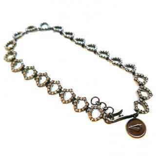 Jade Jagger Chocolate Diamond Insignia Bracelet