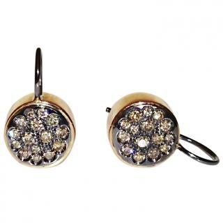 Roberto Marroni Diamond Earrings 18ct Gold  RRP �3200