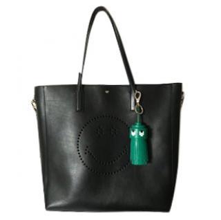 Anya Hindmarsh Smiley Tote Bag with charm