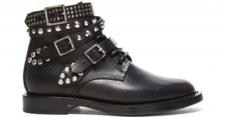 Saint Laurent Studded Ranger Boots