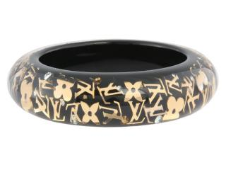 Louis Vuitton Resin Swarovski Bangle Bracelet