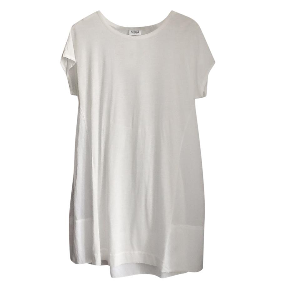 Sonia Rykiel Cream And White Dress
