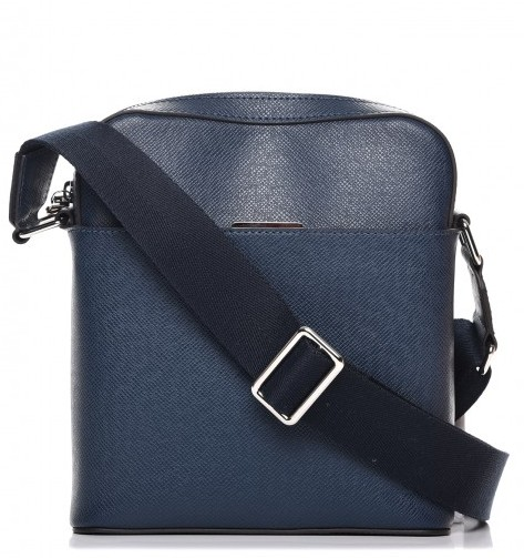 répliques produits de qualité prix de détail Louis Vuitton Blue Anton Pochette Bag