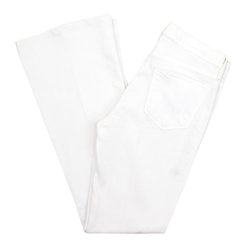 Frame Kick Flare Denim Jeans
