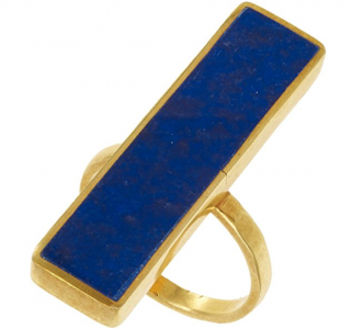 Pippa Small Lapis Ring
