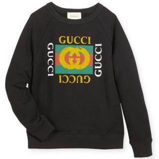 Gucci Crewneck Logo Sweatshirt