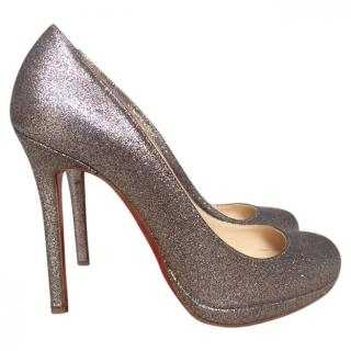Christian Louboutin Glitter 120mm Pumps