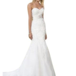 True Bride Sweetheart Embellished Wedding Dress