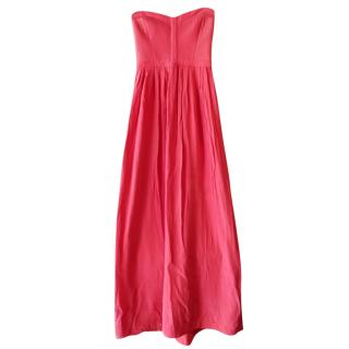 Parker Bayou Silk Strapless Gown