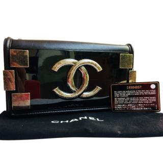 Chanel Limited edition 'hard metal' cross body flap bag