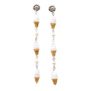 Venessa Arizaga Game of Cones Earrings