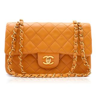 Chanel Small Lambskin Classic Double Flap Bag