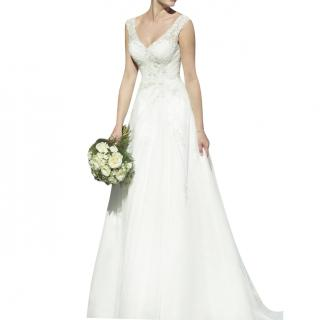 True Bride Embellished Tulle Wedding Dress