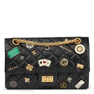 Chanel Casino Lucky Charms 2.55 Reissue 225 Calfskin Double Flap Bag