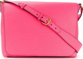 Burberry Pink Embossed Messenger Bag