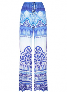 Hale Bob Paisley Printed Pants