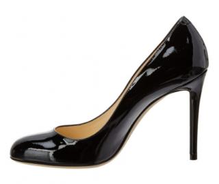 Jimmy Choo Patent Black Heels