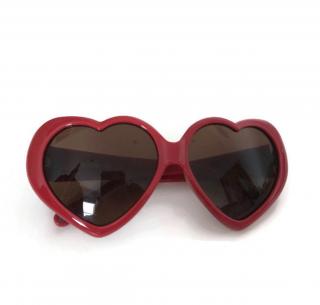 Moschino Lolita Heart Sunglasses