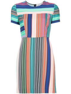 Diane Von Furstenberg Burman Print Silk Blend Dress