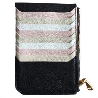 Miu Miu Black & Nude Leather Cardholder
