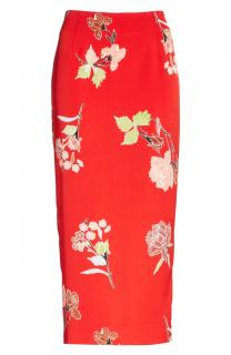 Diane von Furstenberg Tailored Everton Midi Pencil Skirt
