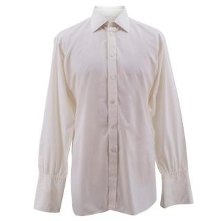 Turnbull & Asser Off White Men's Shirt