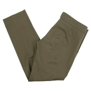 Gucci Tailored Green Trousers