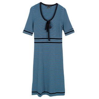 Marc Jacobs Fine Knit Striped Dress