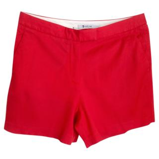 T by Alexander Wang Red shorts