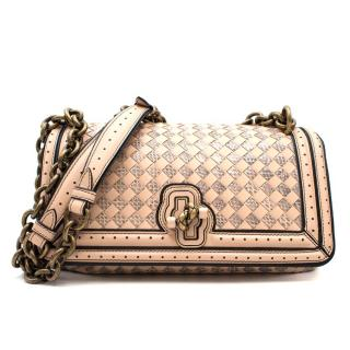 Bottega Veneta City Knot Intrecciato Watersnake Bag