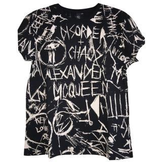 MCQ Alexander Mcqueen Graffiti t shirt