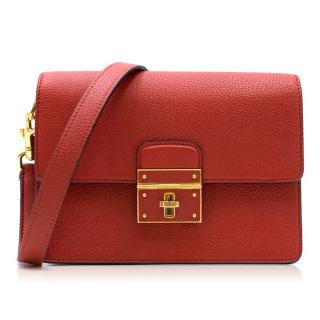 Dolce & Gabbana Red Flap Bag