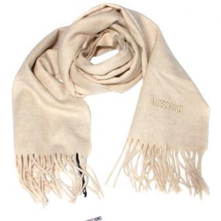 Moschino Merino Wool Scarf