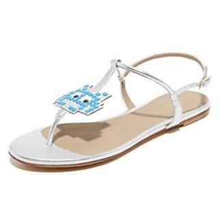 Anya Hindmarch Space Invader Sandals