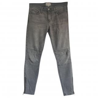 Current Elliott Grey Skinny Jeans