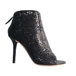 Emilio Pucci Lasercut Ankle Boots
