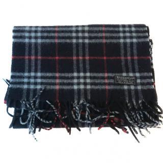 Burberry vintage wool nova check scarf
